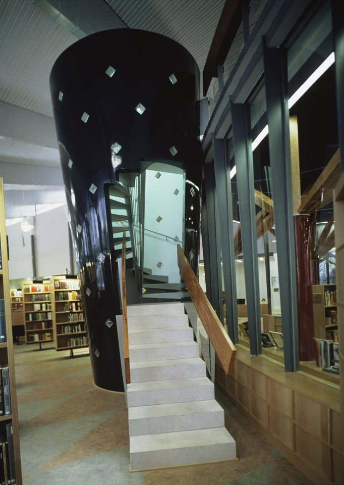 Children's section, Kuhmo Town Library