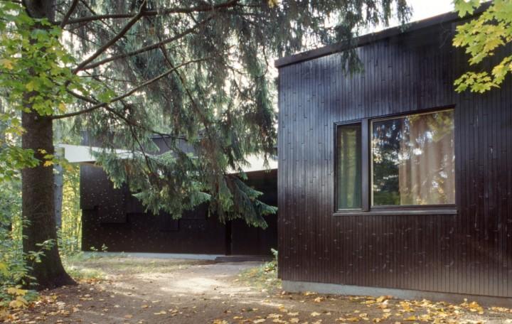 East facade in 1993, Villa Kokkonen