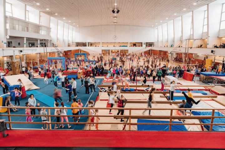 Sports hall today, Töölö Sports Hall (former Expo Hall)