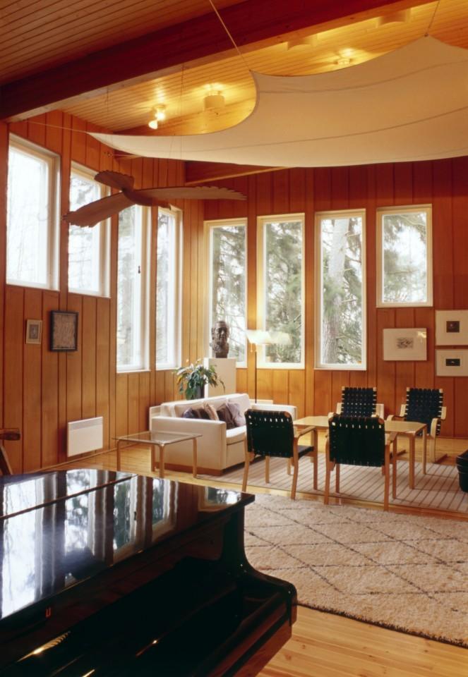 Music studio, Villa Kokkonen