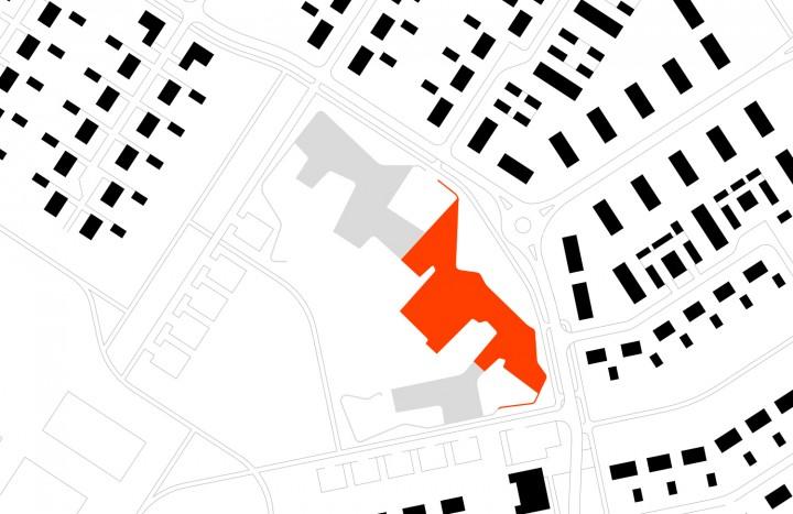 Site plan, Niemenranta School