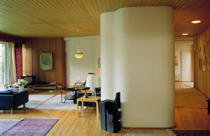 Living room, Villa Kokkonen