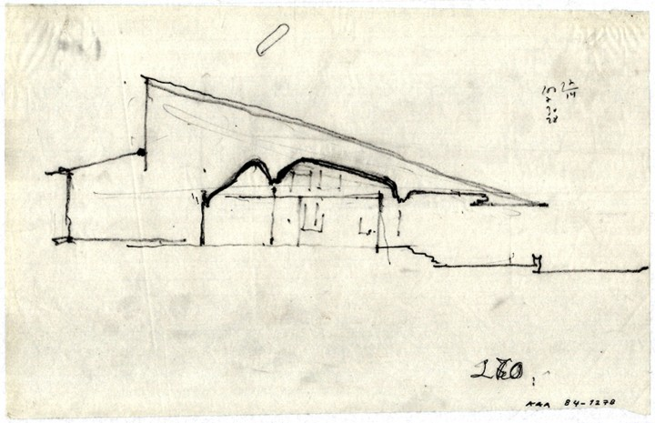 Sketch, Maison Louis Carré