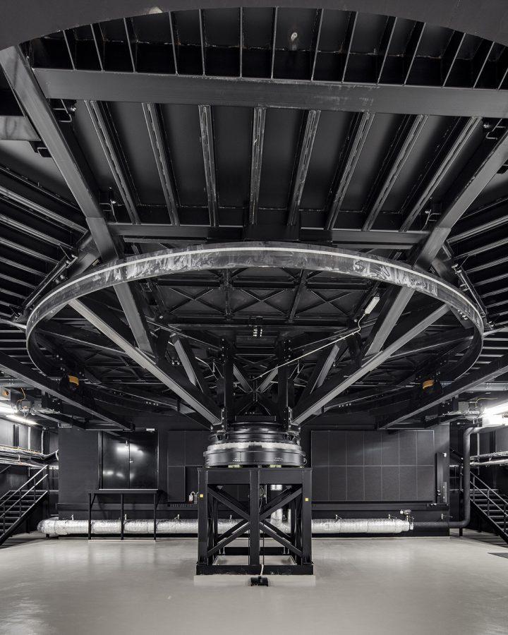 Revolving stage mechanism, Lappeenranta City Theatre