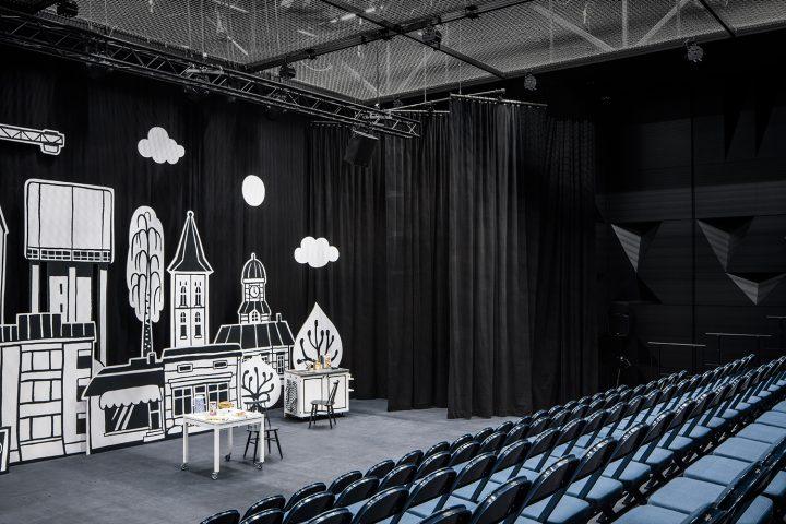 Small stage, Lappeenranta City Theatre