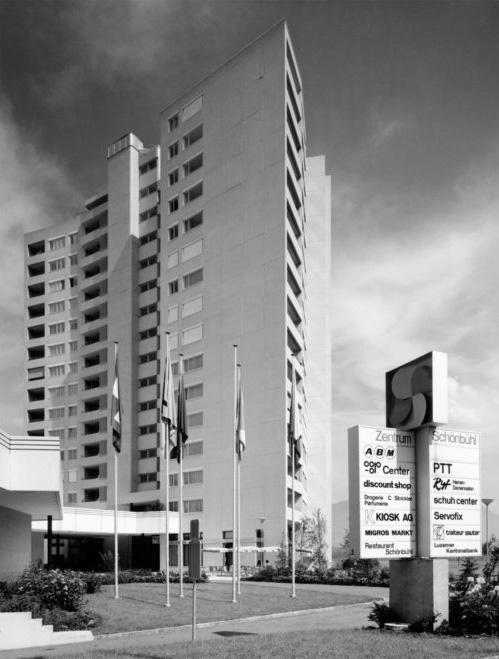 Entrance, Schönbühl Apartment House and Commercial Centre