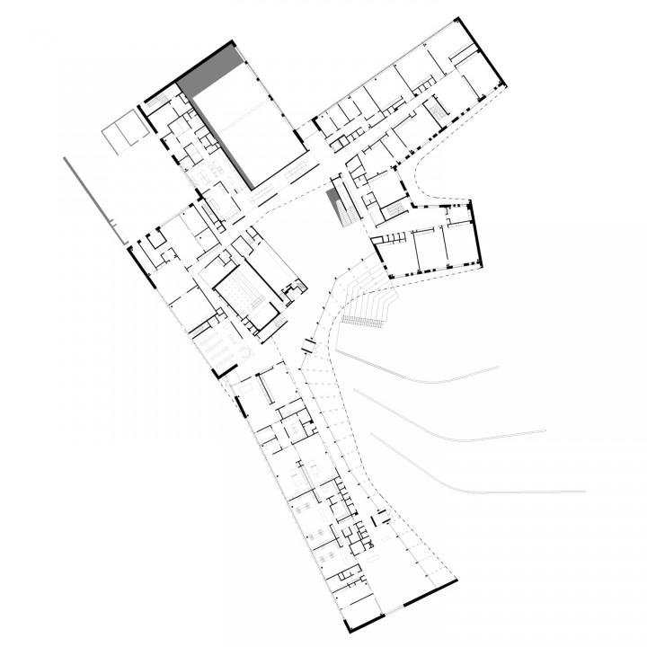 Ground floor, Saunalahti School