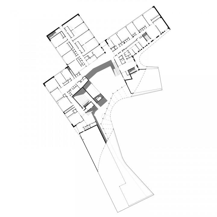 1st floor, Saunalahti School