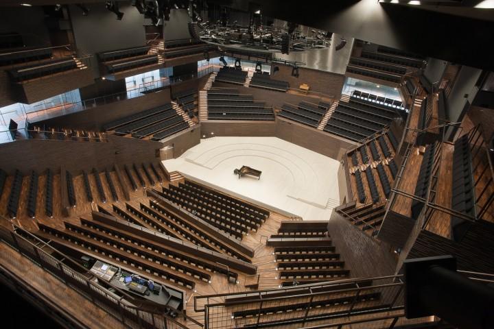 Concert hall., Helsinki Music Centre