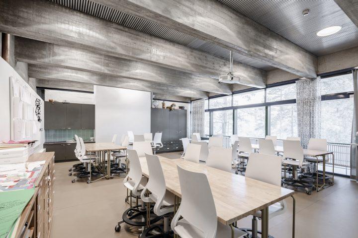 Classroom, Roihuvuori School