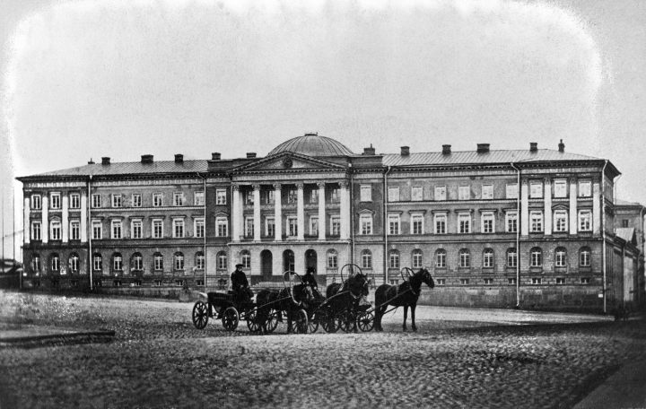 Photo from the 1860s, Senate Palace