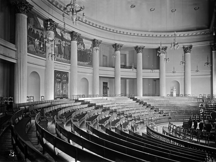 Assembly Hall in 1907, Helsinki University