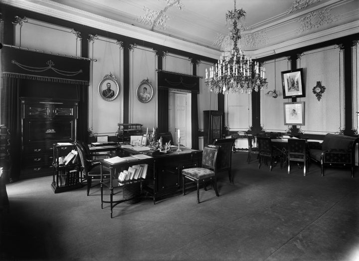 General-governor's study in 1914–17, Government Banquet Hall Smolna