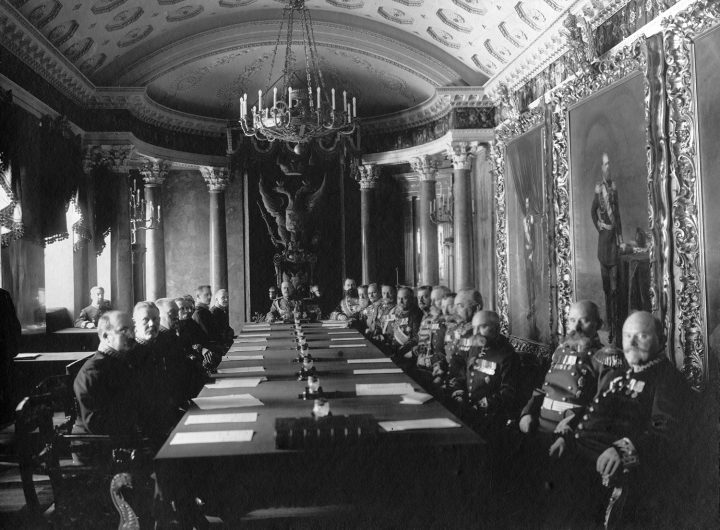 Senate Assembly Hall in 1915, Senate Palace