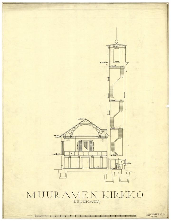 Section, Muurame Church