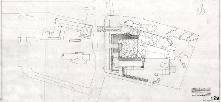 Yard plan, Cross of the Plains Church (Lakeuden risti)
