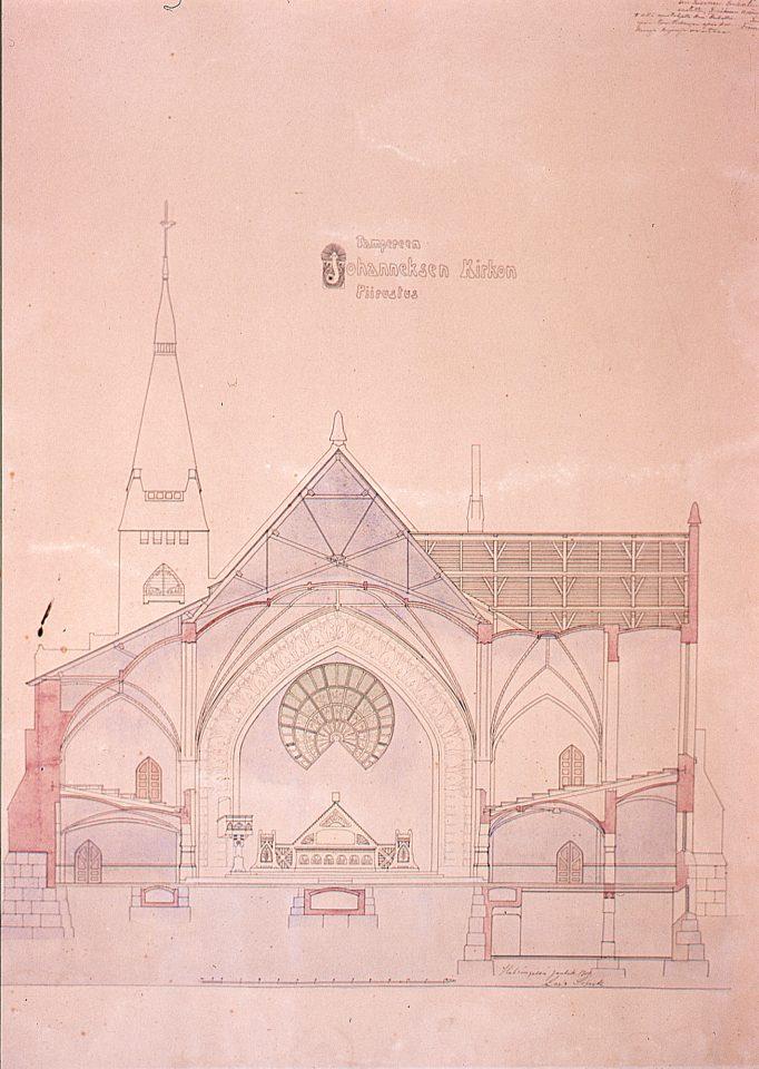 Elevation, Tampere Cathedral