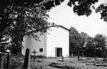 View from the churchyard, Parainen Funerary Chapel