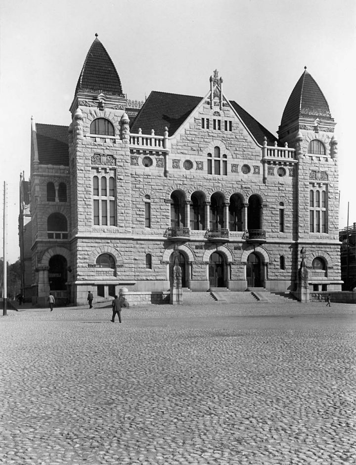 Main façade in the 1960s , Finnish National Theatre