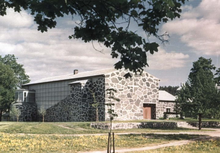 View from the north, Lohja Parish Hall