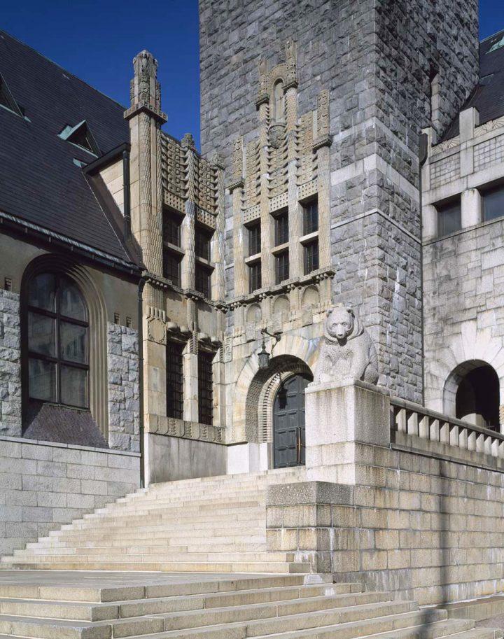 Main entrance., National Museum