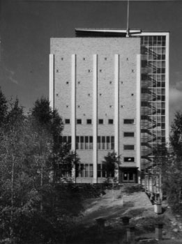 Photo from the 1950s, Riihimäki Water Tower