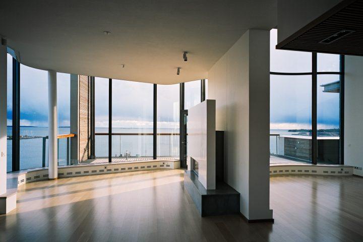 Top floor apartment, Eiranranta Housing