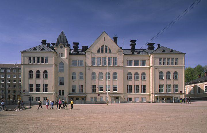 Eastern elevation, Alexander School