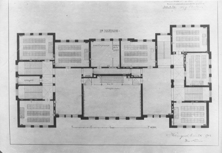 1st floor, Alexander School