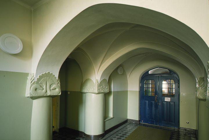 Entrance, Tampere School of Domestic Economy