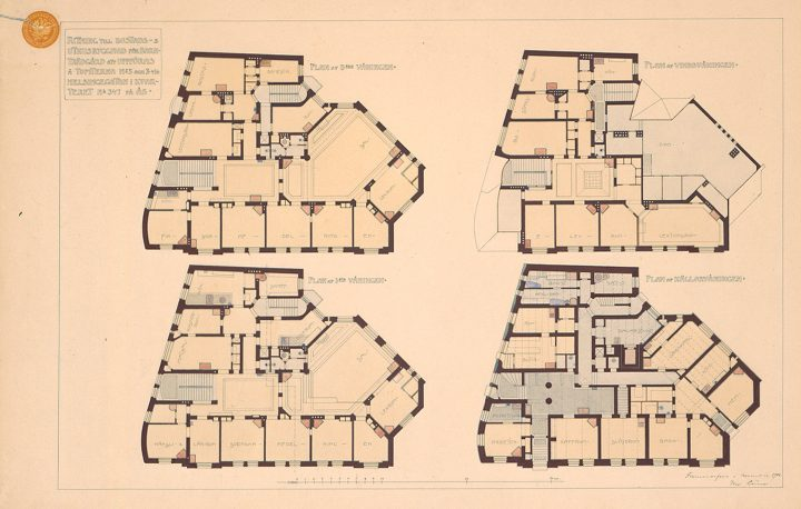 Elevation plan, Ebeneser Kindergarten
