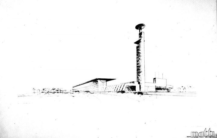 Erkki Huttunen, Harry W. Schreck, competition entry