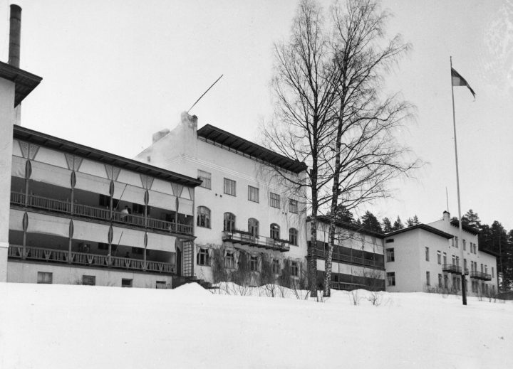 Main façade, Takaharju Sanatorium