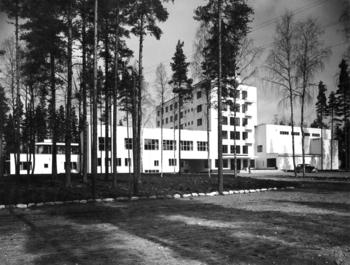 Main building, Vierumäki Sports Institute