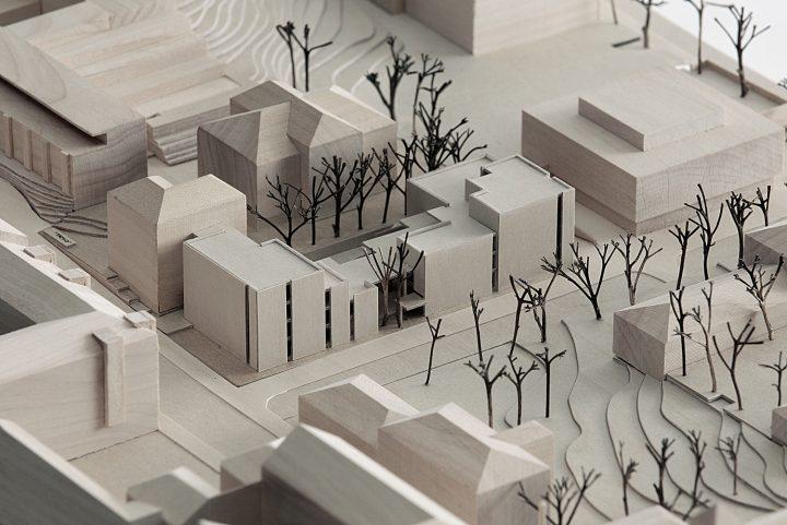 Scale model, Swedish School of Social Science, University of Helsinki