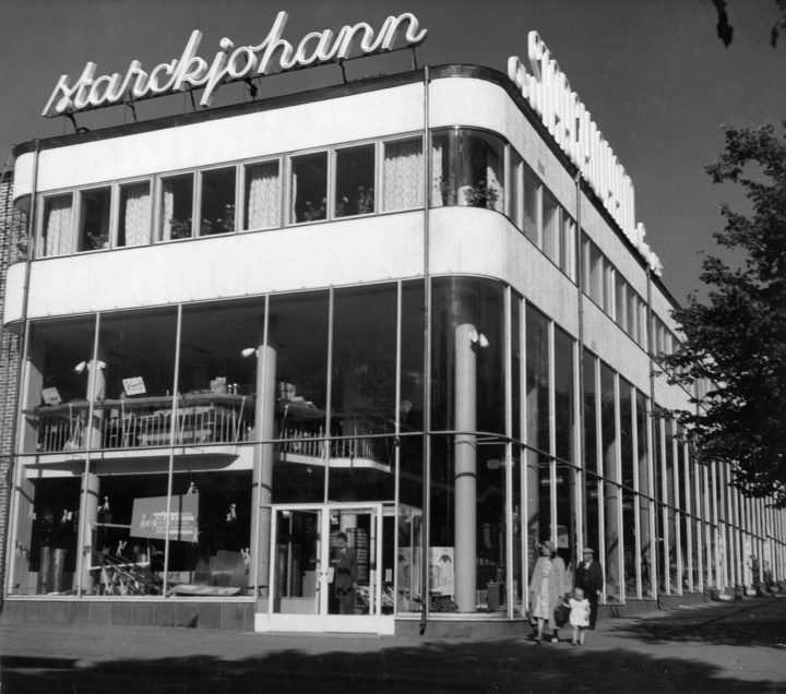 Main elevation towards the Aleksanterinkatu Street, Starckjohann Building