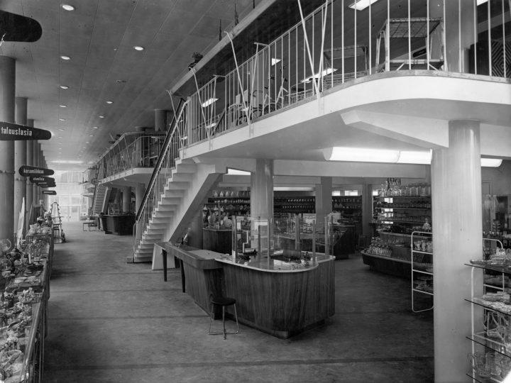 Original interior of the ground floor, Starckjohann Building