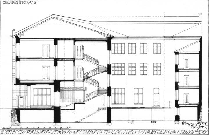 Elevation, Wuorio Commercial Building
