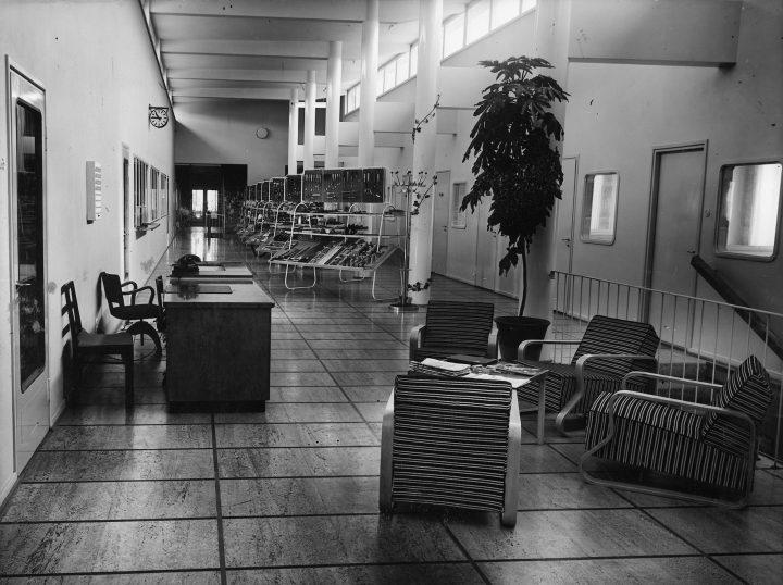 Original interior of the 1st floor, Starckjohann Building