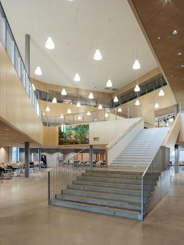 Main foyer, Heart of Nikkilä
