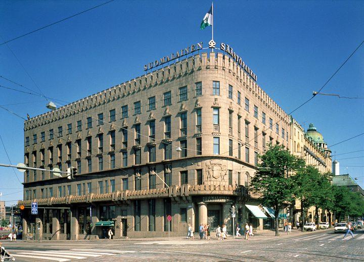 Building photographed from Mannerheimintie, Kaleva Insurance Company