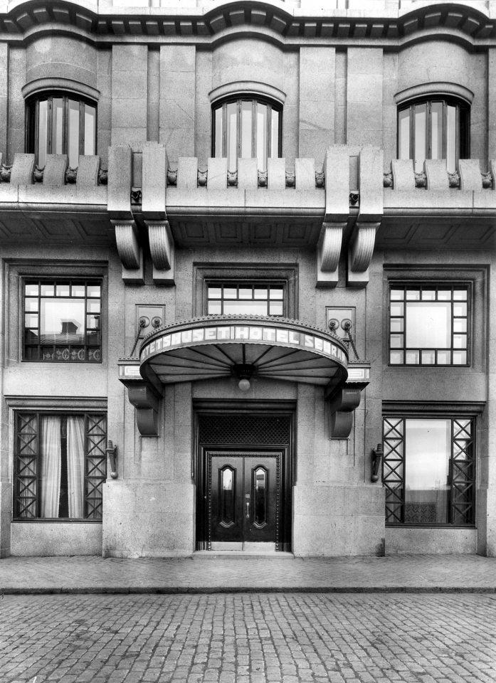 Main entrance, Kaleva Insurance Company