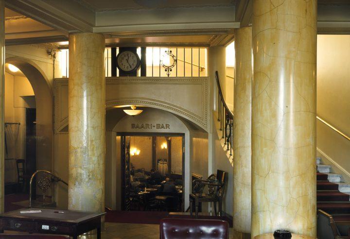 Interior with original details, Kaleva Insurance Company