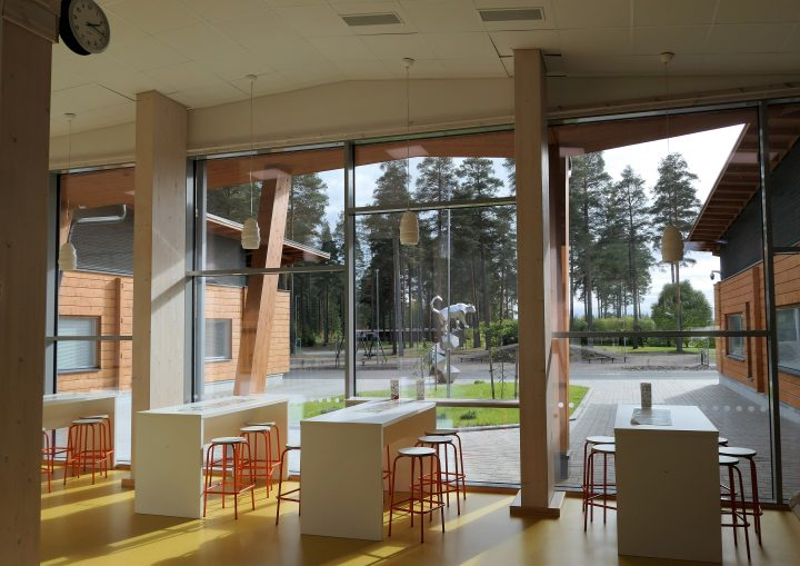 The interior, Kauppis-Heikki School