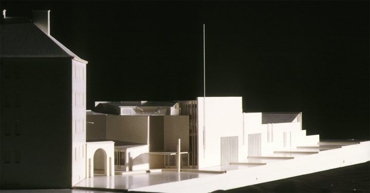 Scale model, Vallila Library and Daycare Centre