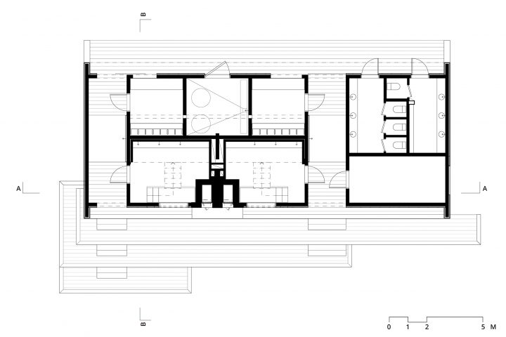 Floor plan, Lonna Sauna