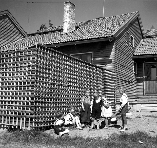 Worker's dwellings in the 1950s, Laivateollisuus Residential Area