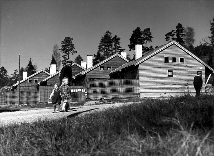 Workers' dwellings, Laivateollisuus Residential Area