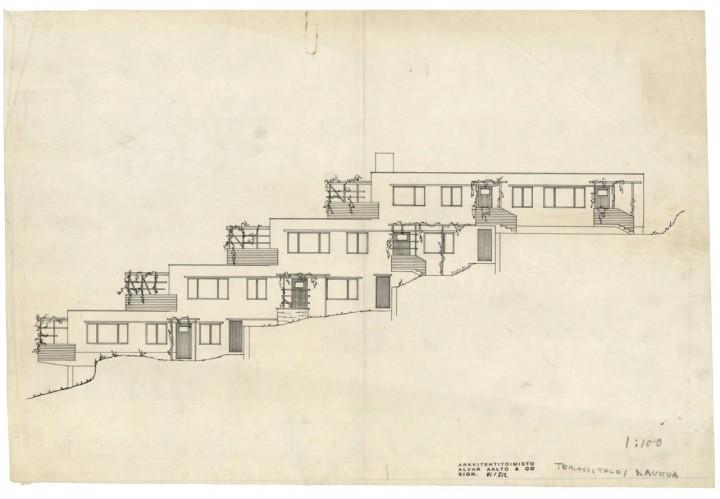 Alvar Aalto: Section E, Terraced House