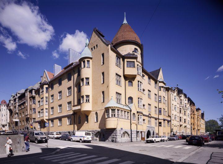 Street façade, Olofsborg